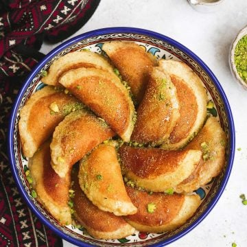 Atayef recipe or gatayef kataief