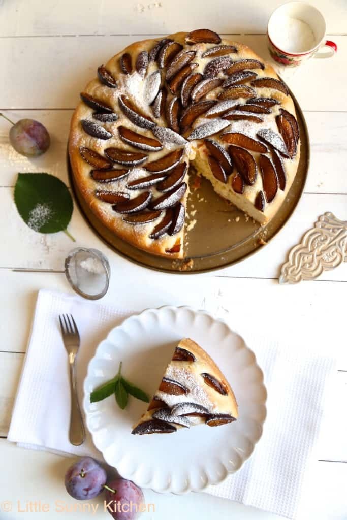 German plum cake recipe