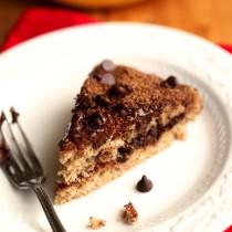 Banana Chocolate Chip Crumb Cake