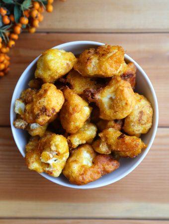 Pumpkin cauliflower fritters
