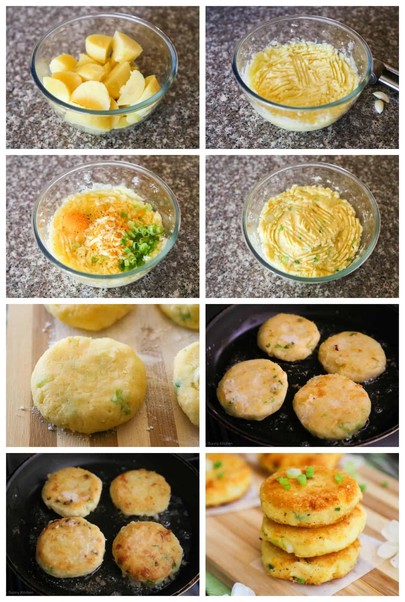 potato cakes recipe steps