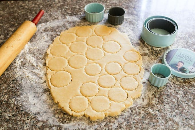 Shortbread coconut cookies recipe