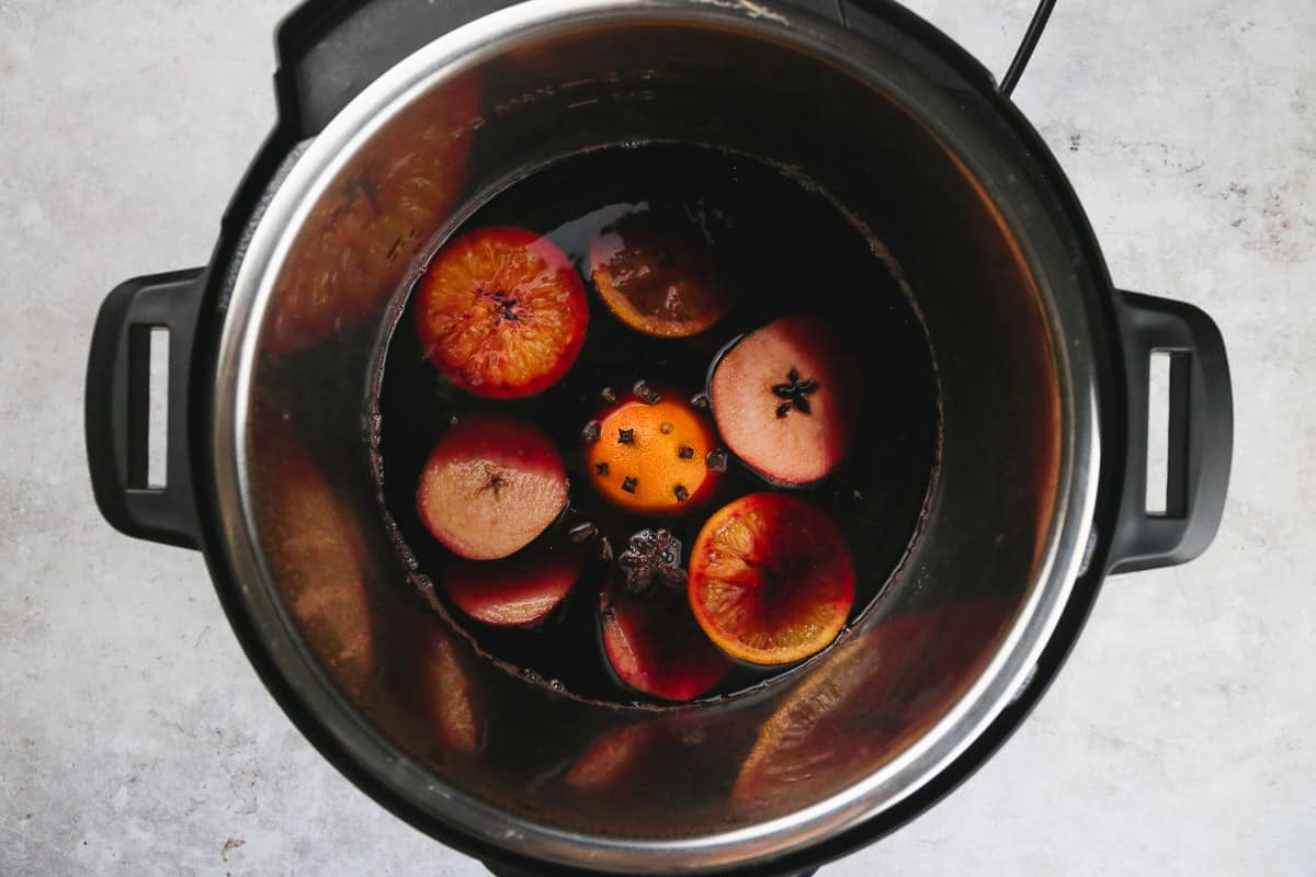 Instant pot mulled wine recipe