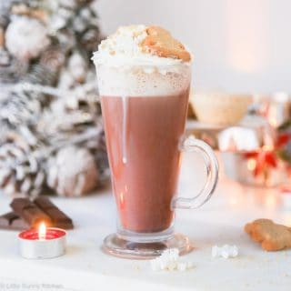 Irish Cream Gingerbread Hot Chocolate