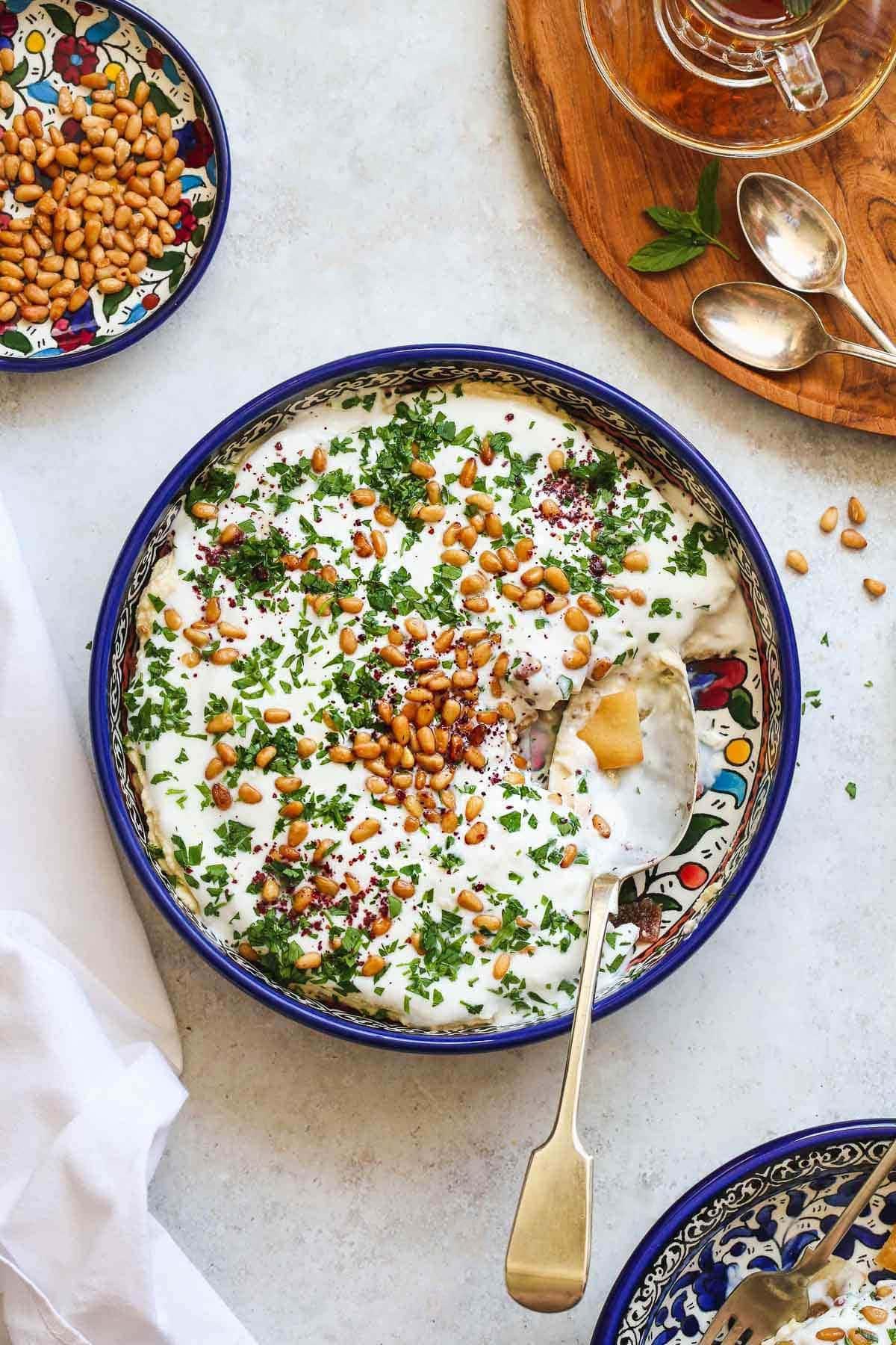 Vegetarian Fattet Hummus