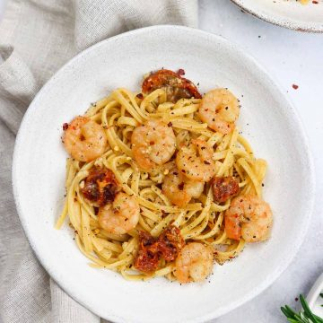 Prawn linguine pasta recipe