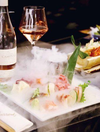 Harrods PanChai Restaurant Review London sushi Jumbo Tiger Prawns Teriyaki