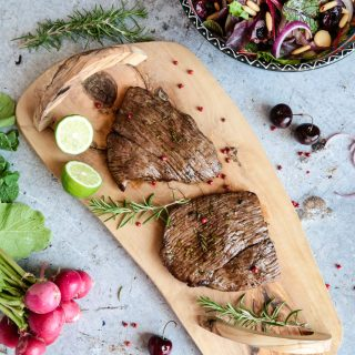 Lamb Leg Steaks BBQ Herb Marinade Simply Beef & Lamb