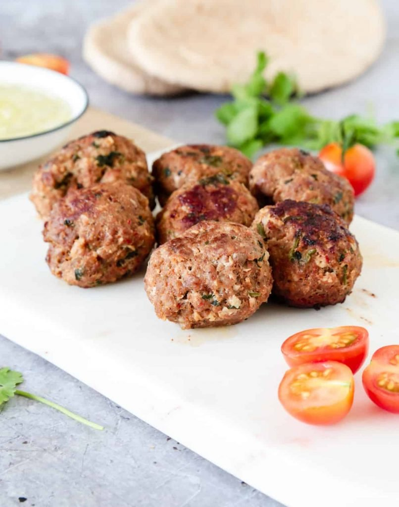 Middle eastern lamb kofta recipe