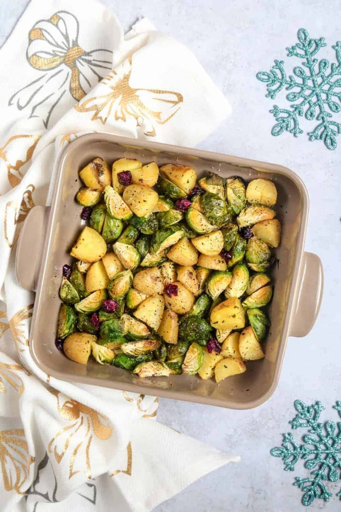 A quick & easy vegetarian dish that will make the perfect side dish this Christmas...