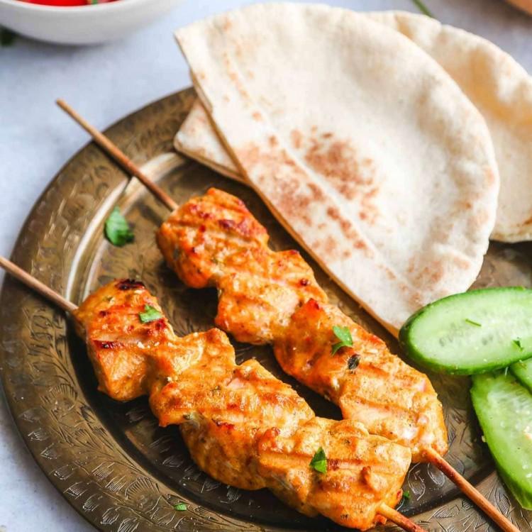 Tandoori salmon recipe