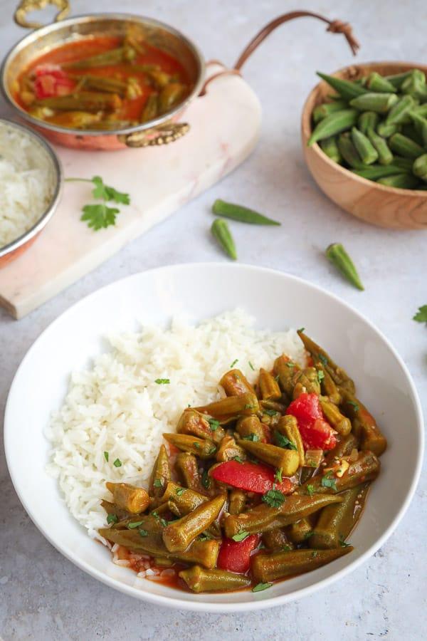 Middle Eastern Bamya recipe