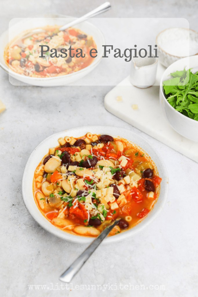 Pasta e fagioli recipe
