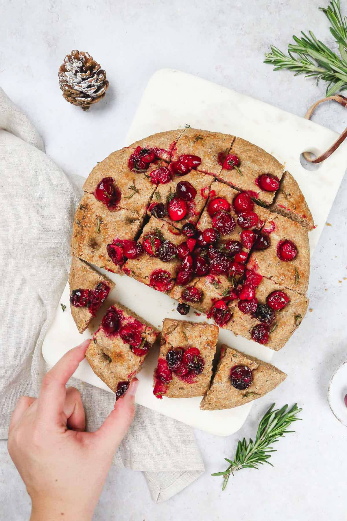 Vegan cranberry bread recipe