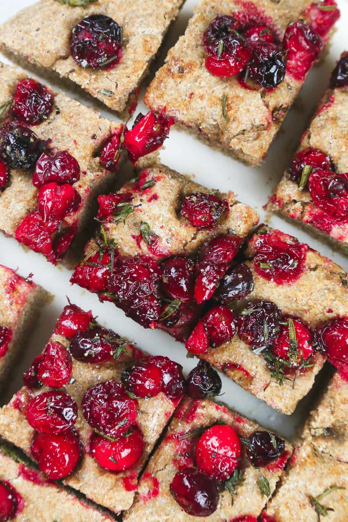 Vegan Cranberry Bread (Savoury)