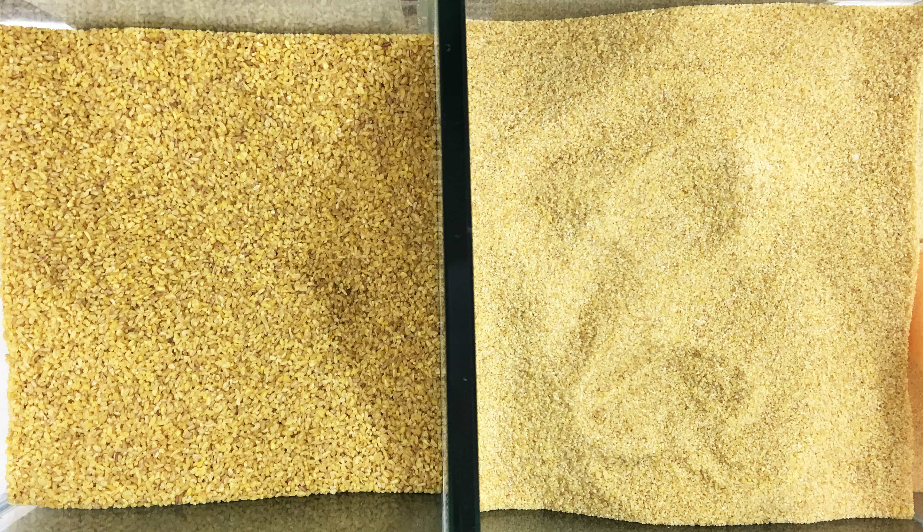 instant bulgur vs fine grain bulgur