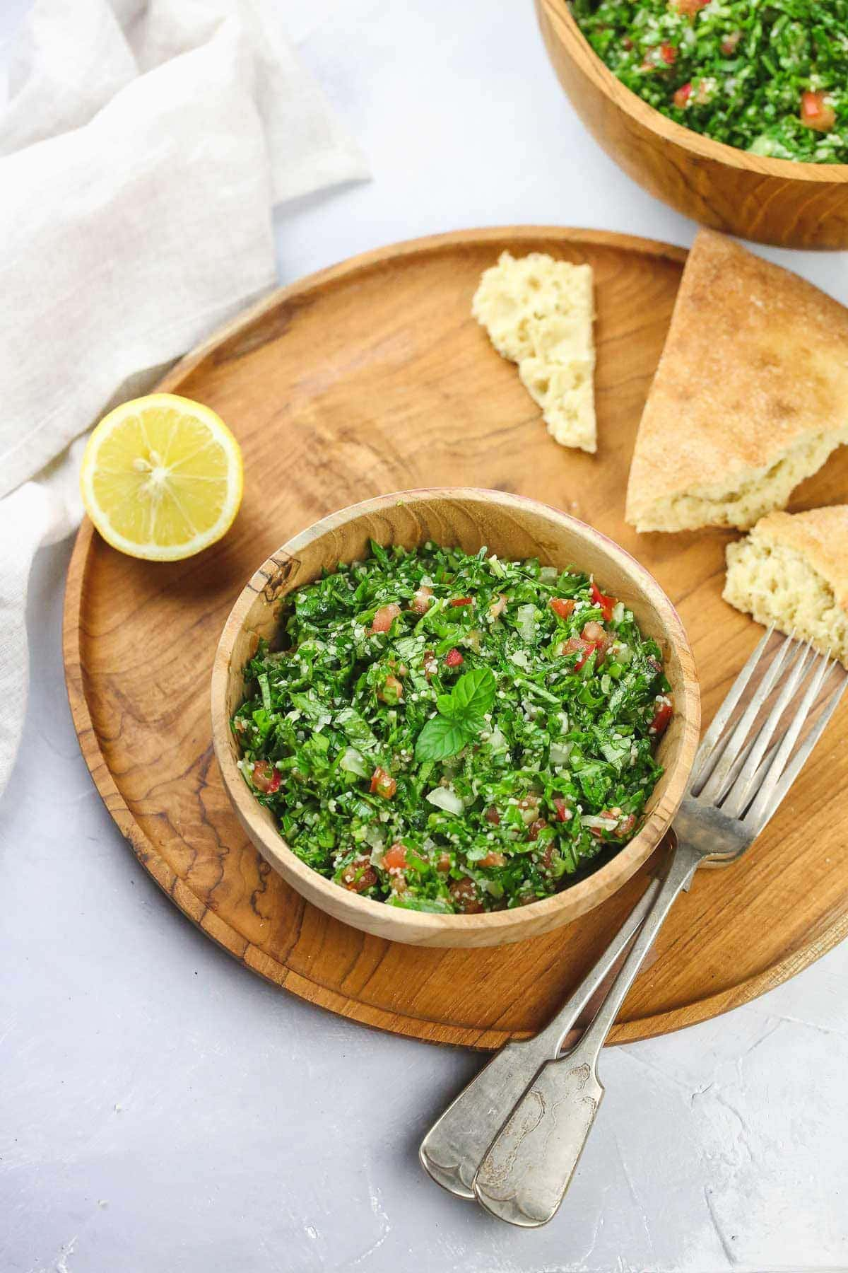 Authentic tabouli salad recipe