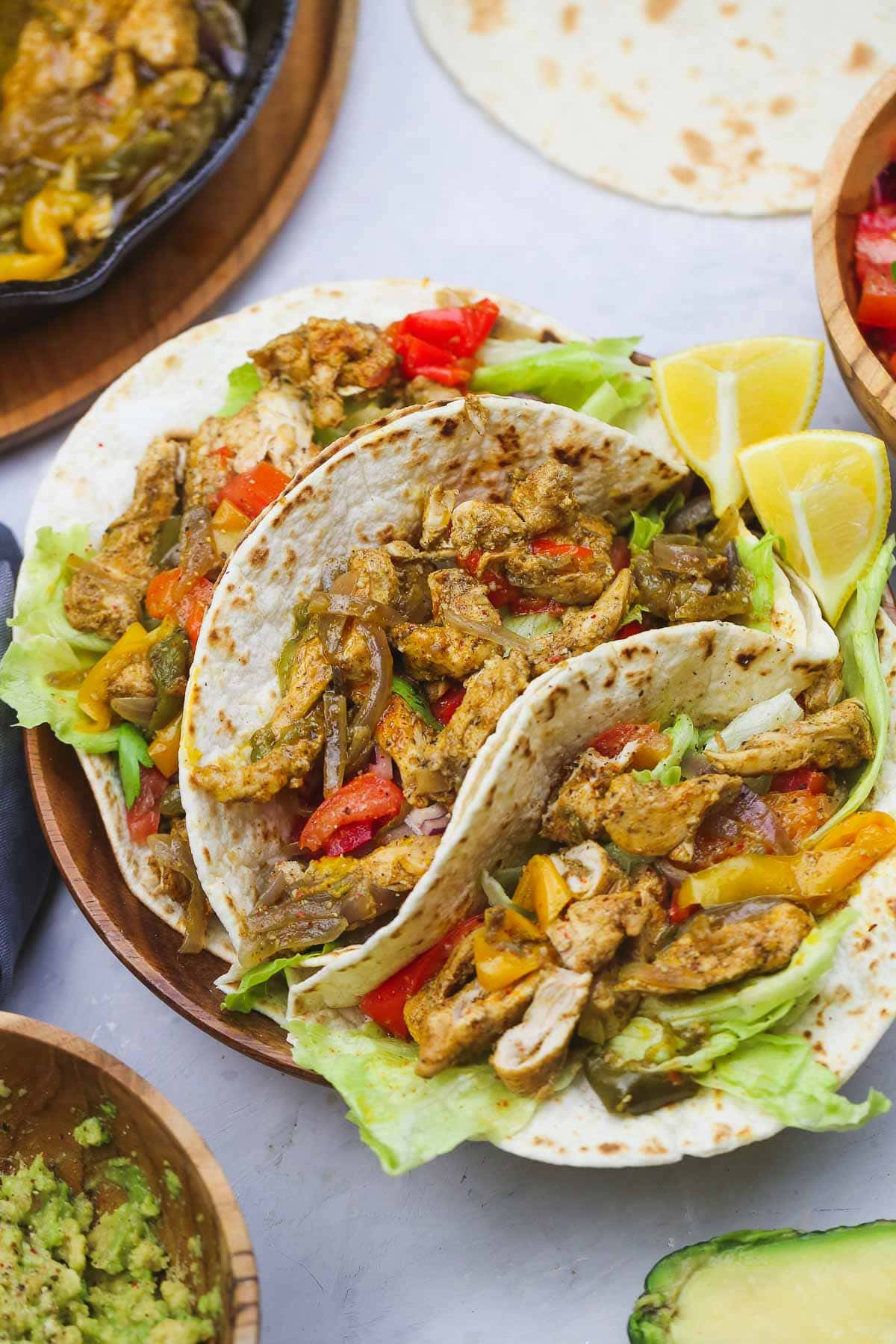 Easy Instant Pot Chicken Fajitas