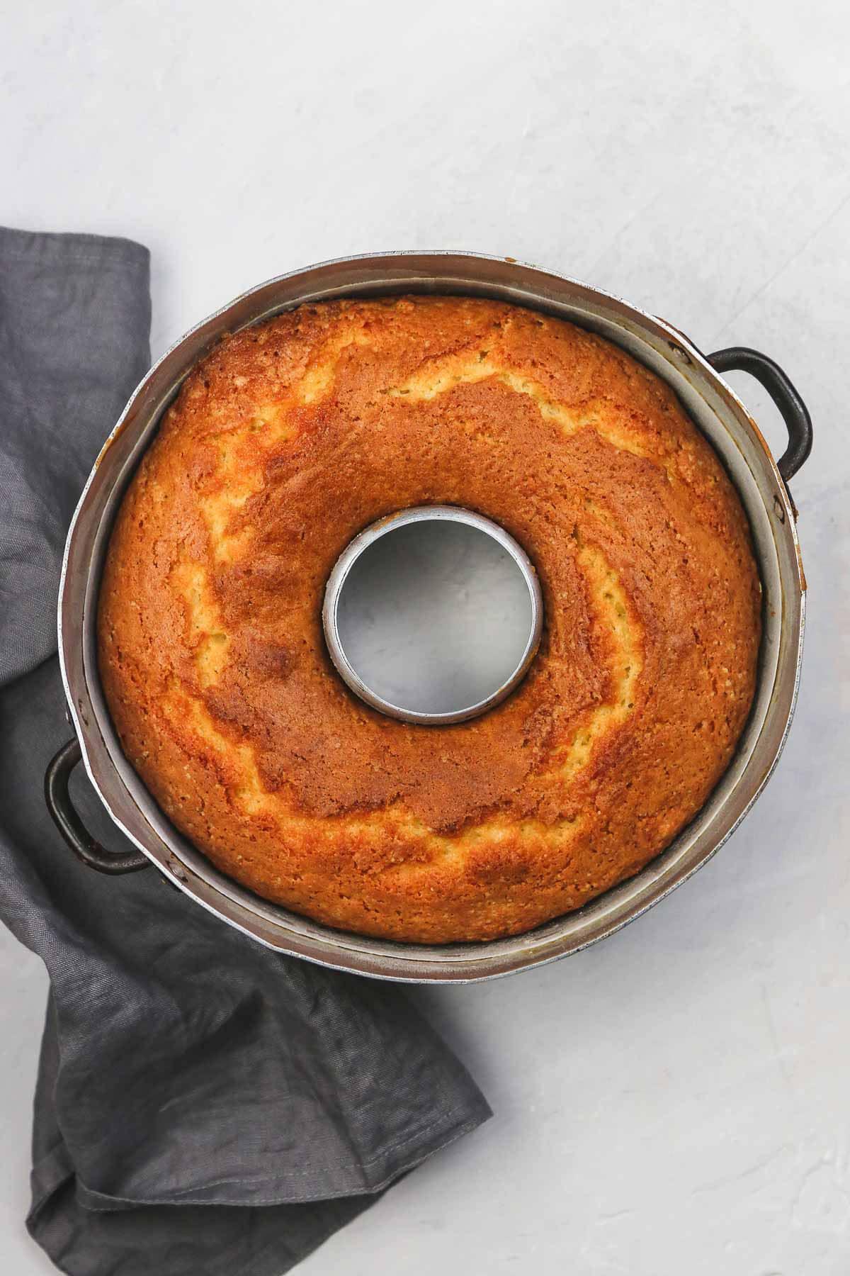 Orange Juice Cake bundt cake recipe