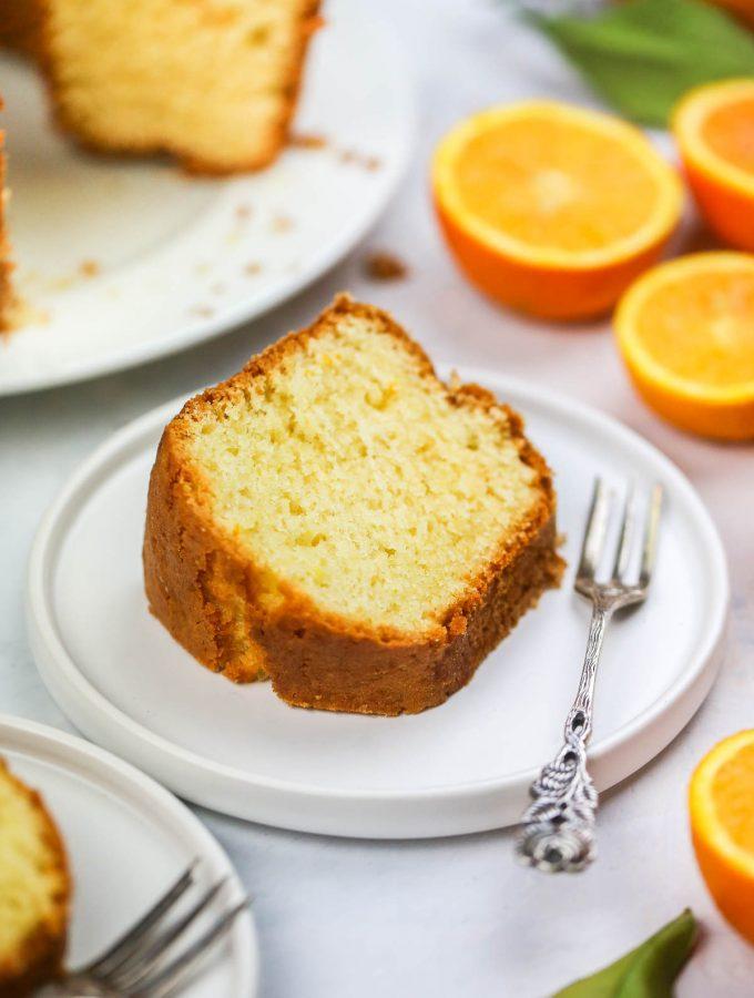 Orange Juice Cake recipe
