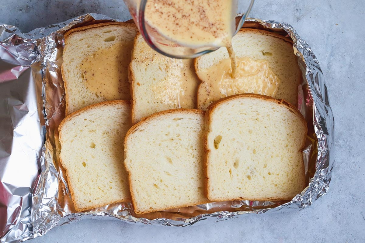 French toast foil packet recipe