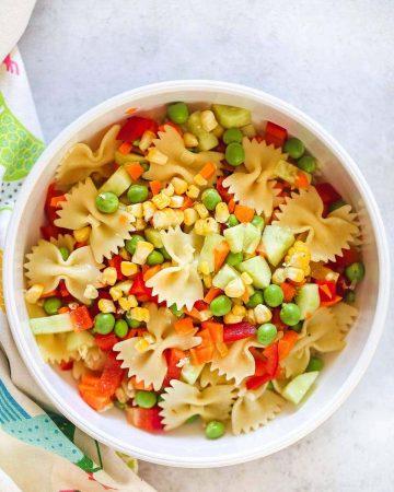 Kid friendly pasta salad recipe