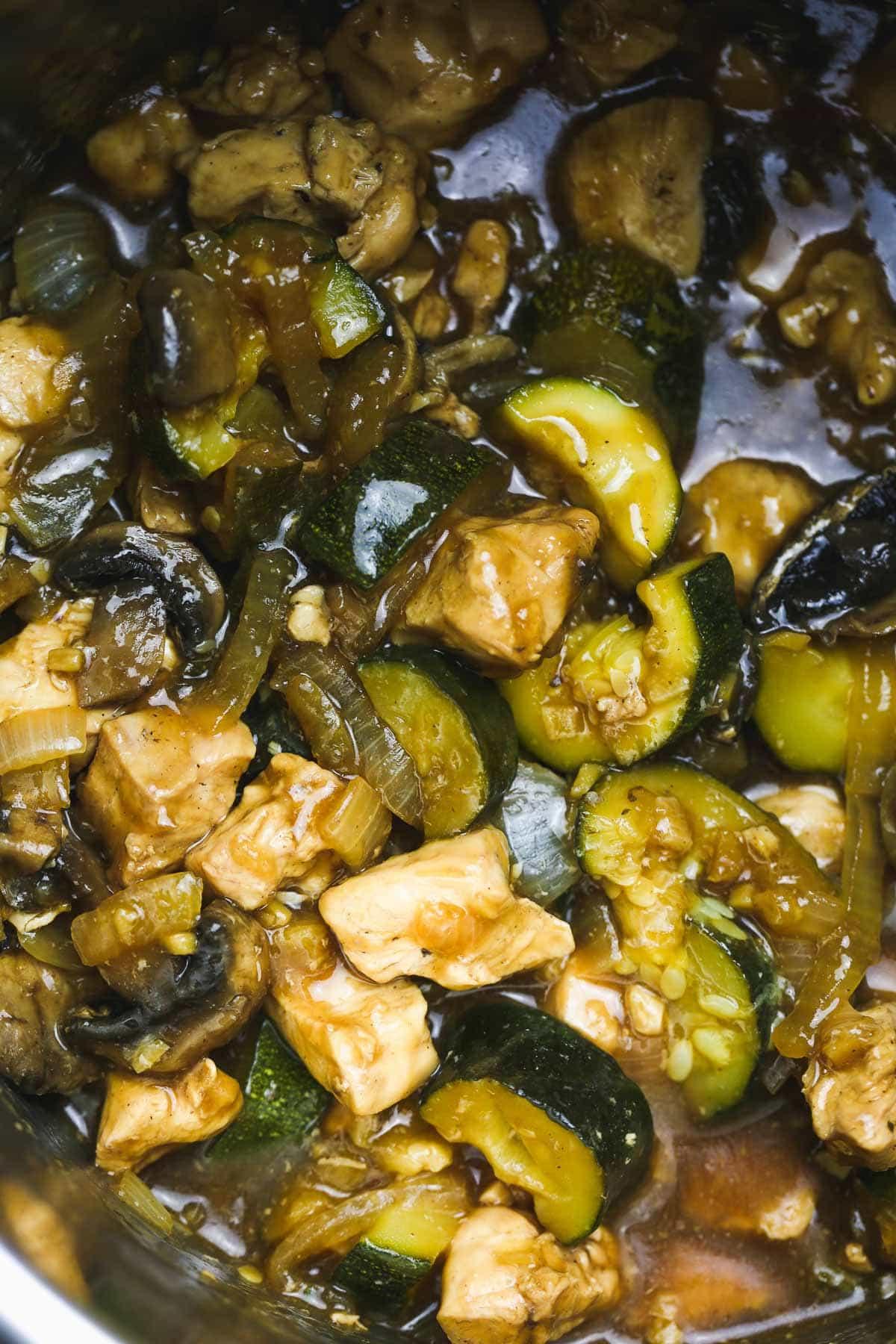 Instant Pot Hibachi Chicken