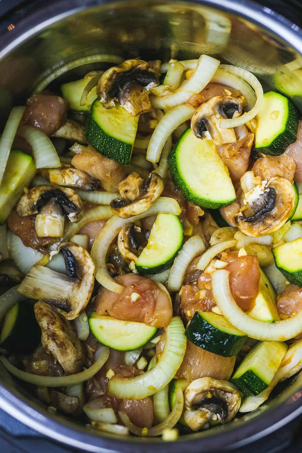Instant Pot Hibachi Chicken ingredients