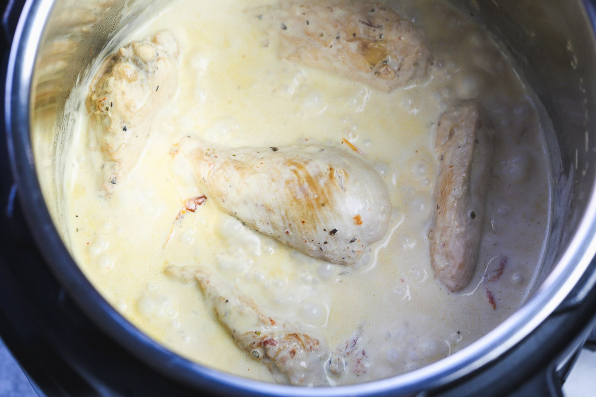 HOW TO MAKE INSTANT POT TUSCAN CHICKEN