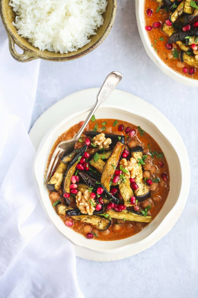 Fesenjan Persian dish