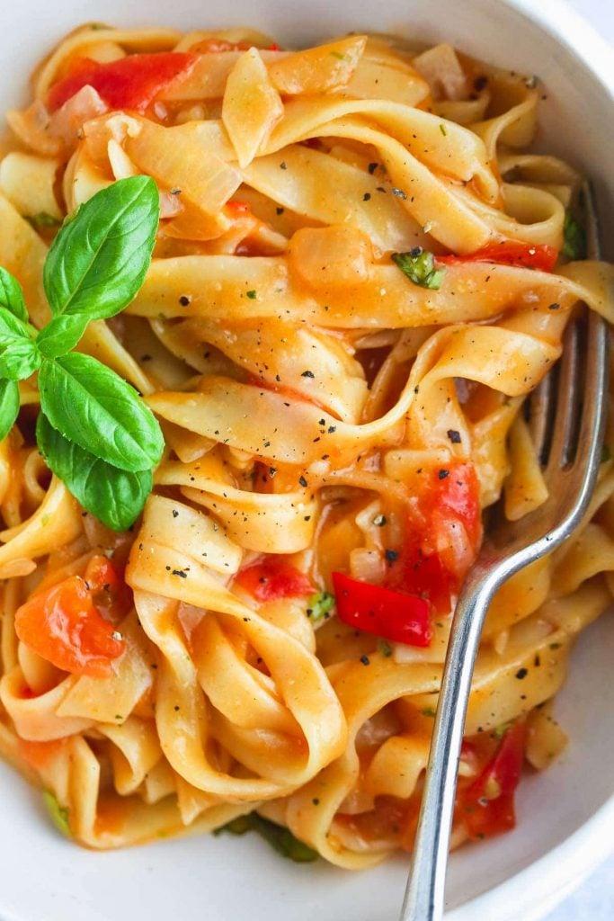 Tomato One Pot Pasta