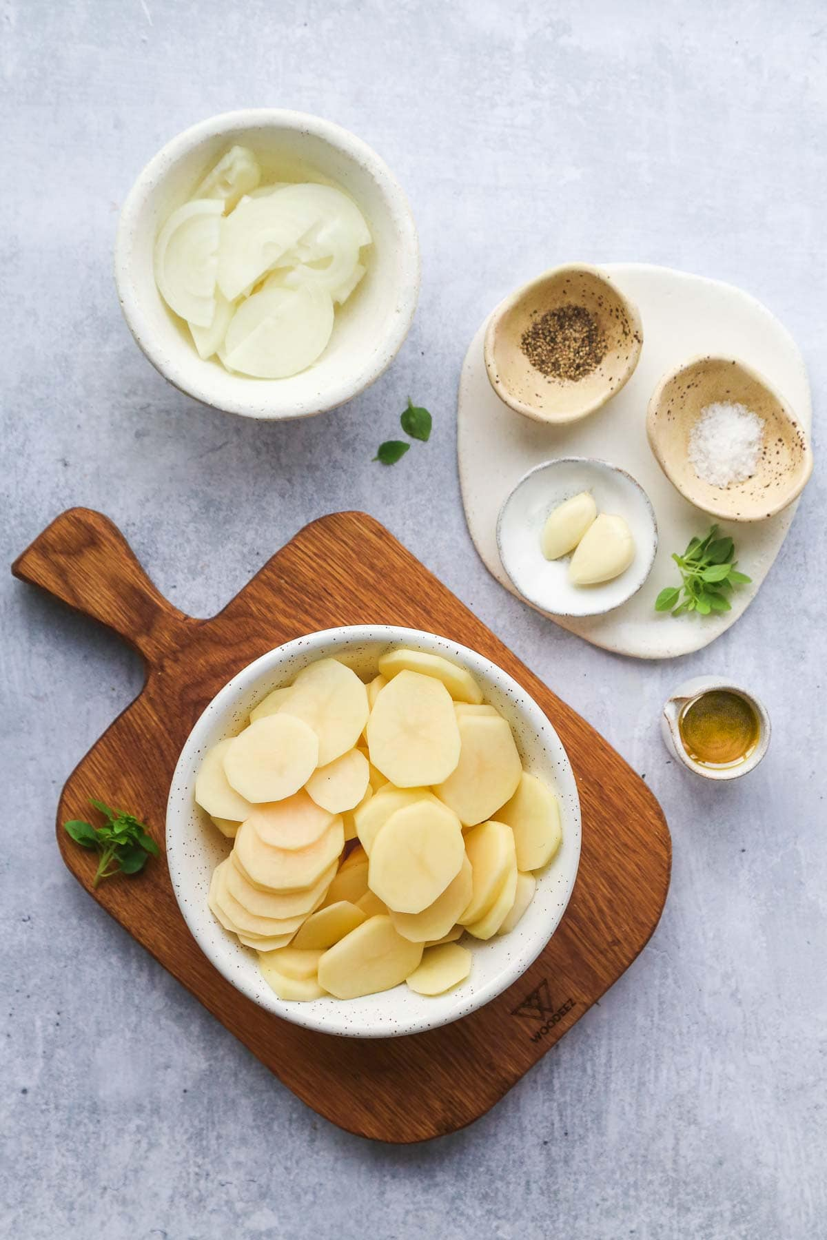 Smothered Potatoes ingredients