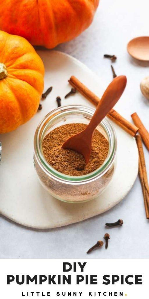Pumpkin Pie Spice pinnable image