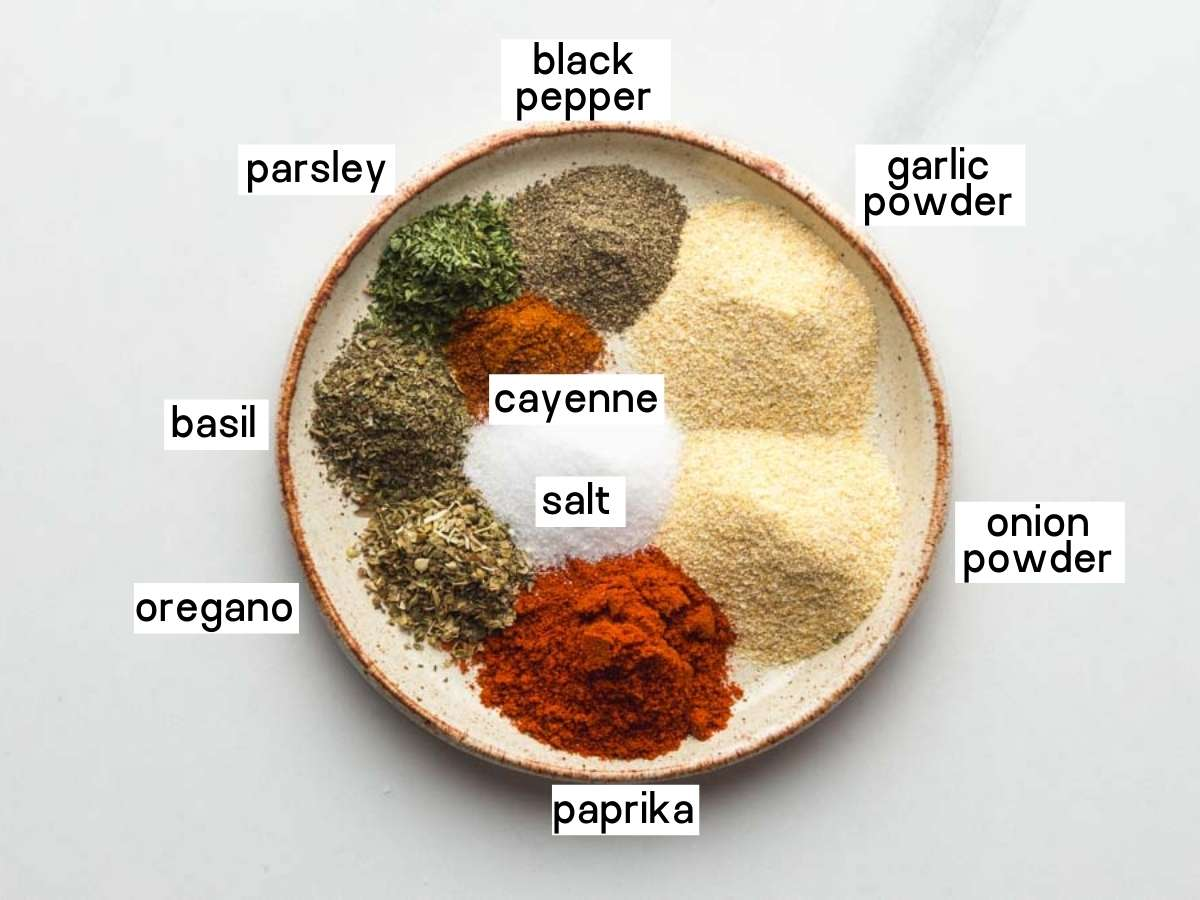 French Fry Seasoning Ingredients