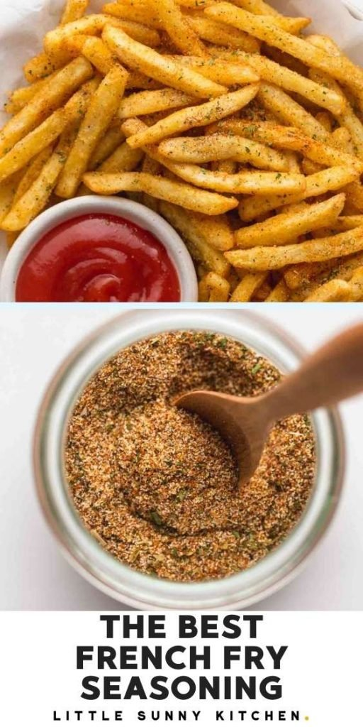 French fry seasoning pinnable image