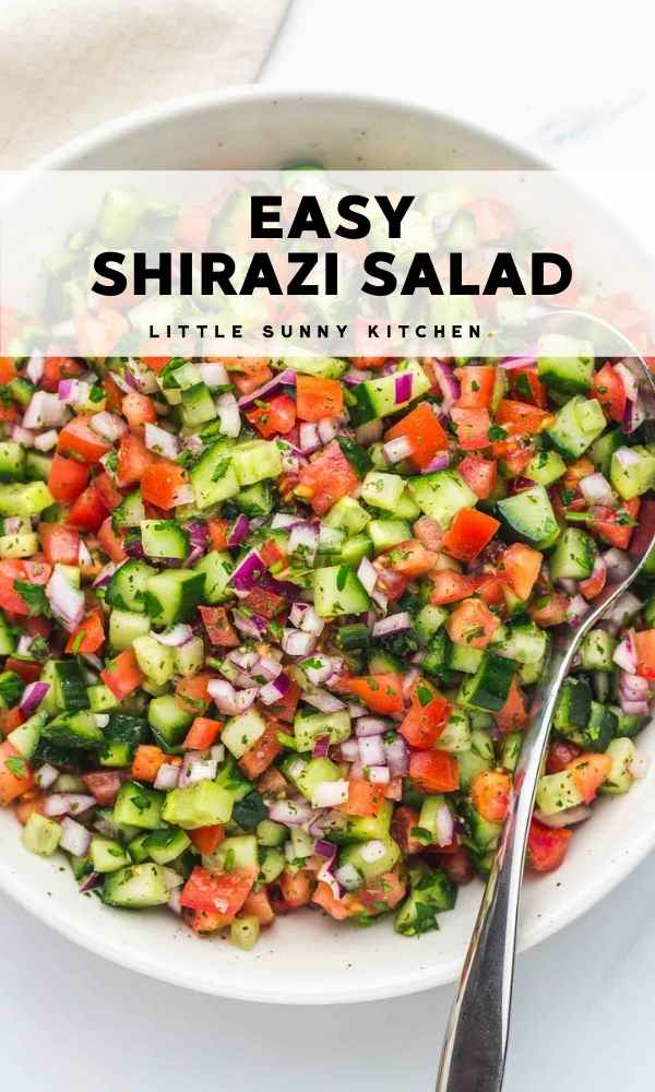 shirazi salad pinnable image