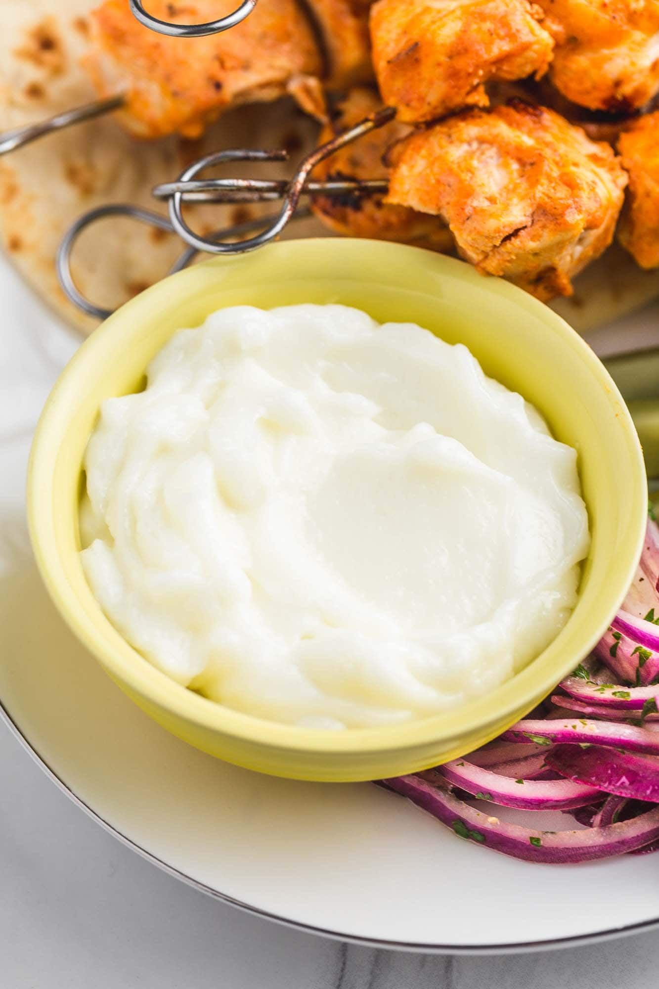 Toum Garlic Sauce