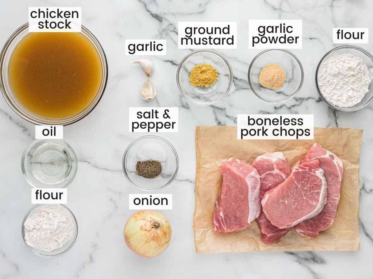 Crock Pot Pork Chops Ingredients