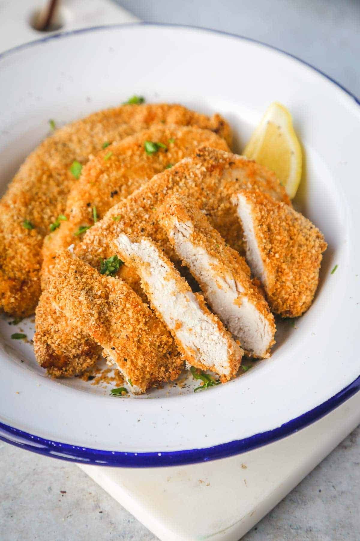 Air Fryer Chicken Breast Healthier Crispy Fried Chicken