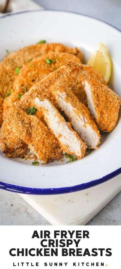 Air Fryer Chicken Breast Healthier Crispy Fried Chicken