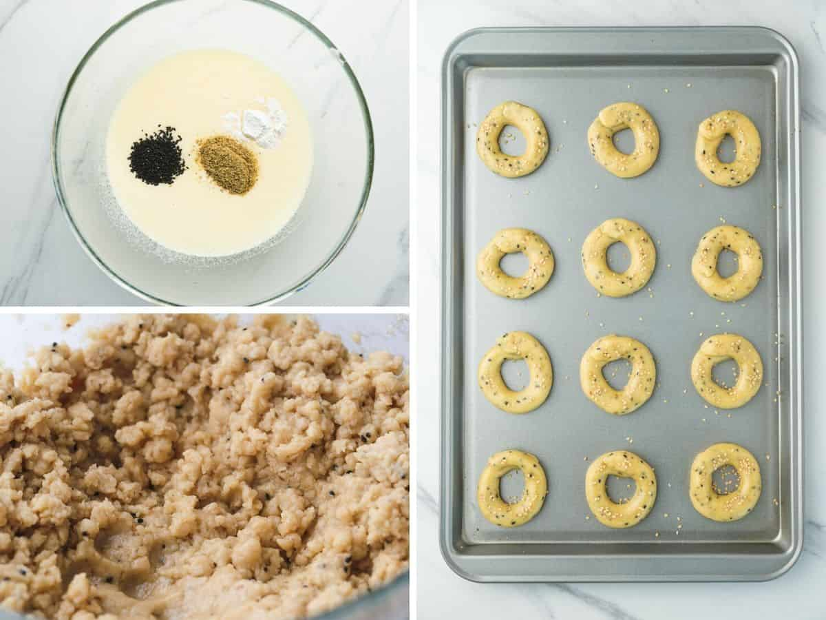 Steps, how to make aniseed cookies