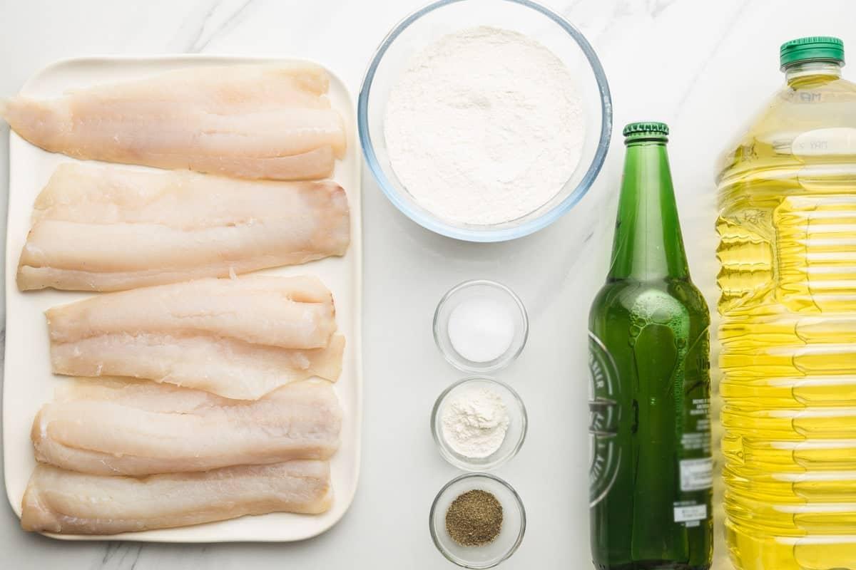Beer battered fish ingredients