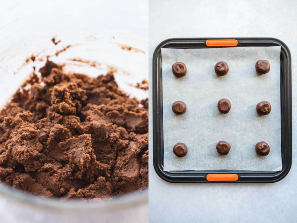 Steps how to bake chunky cookies