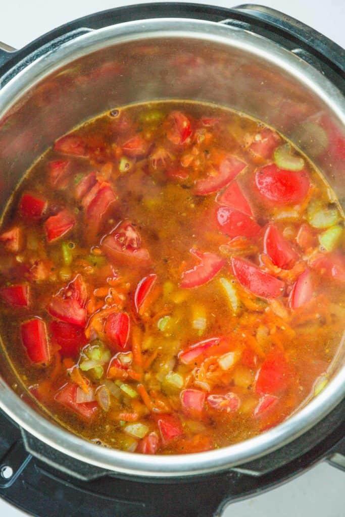 Instant Pot Tomato Bisque