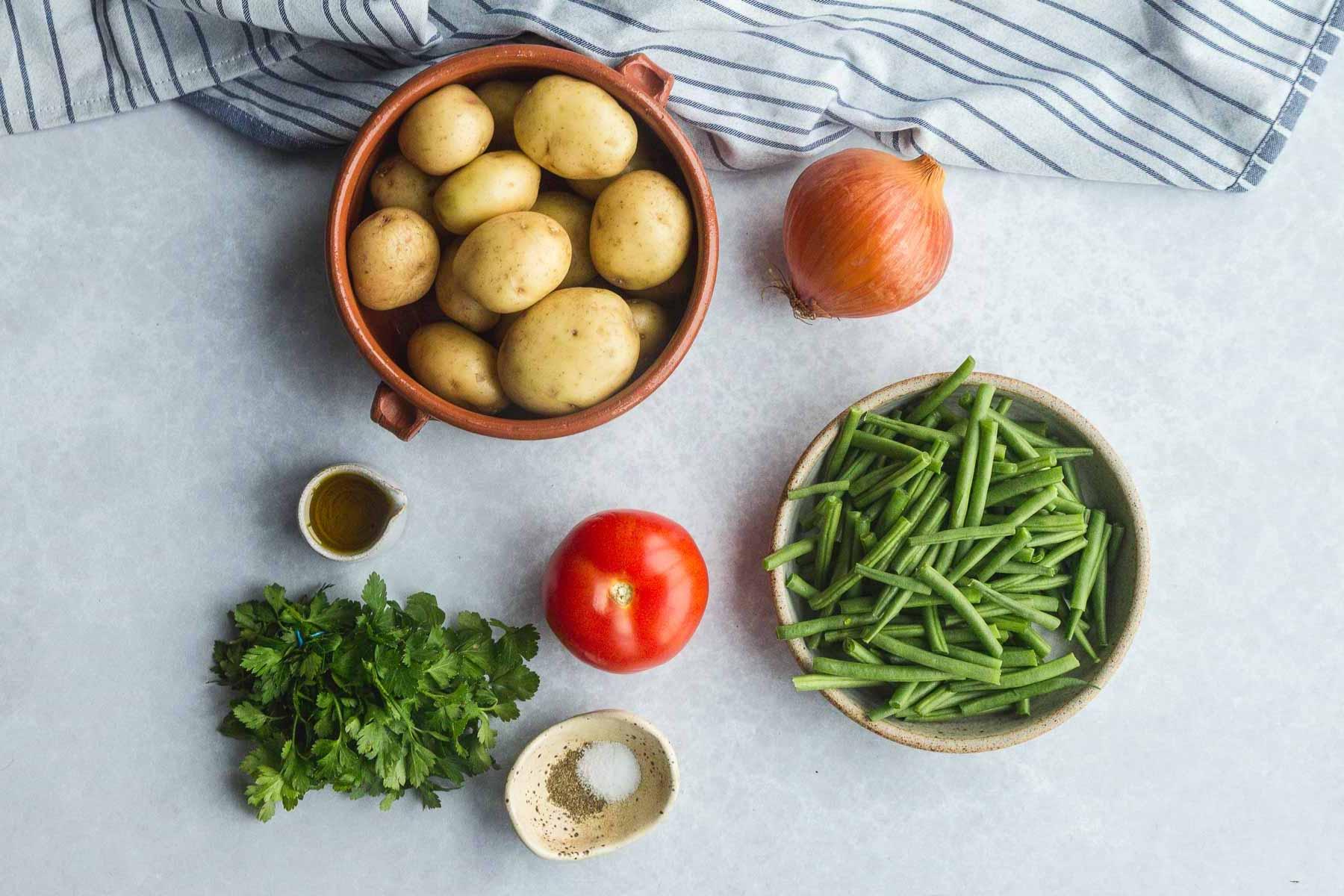 Fasolakia ingredients