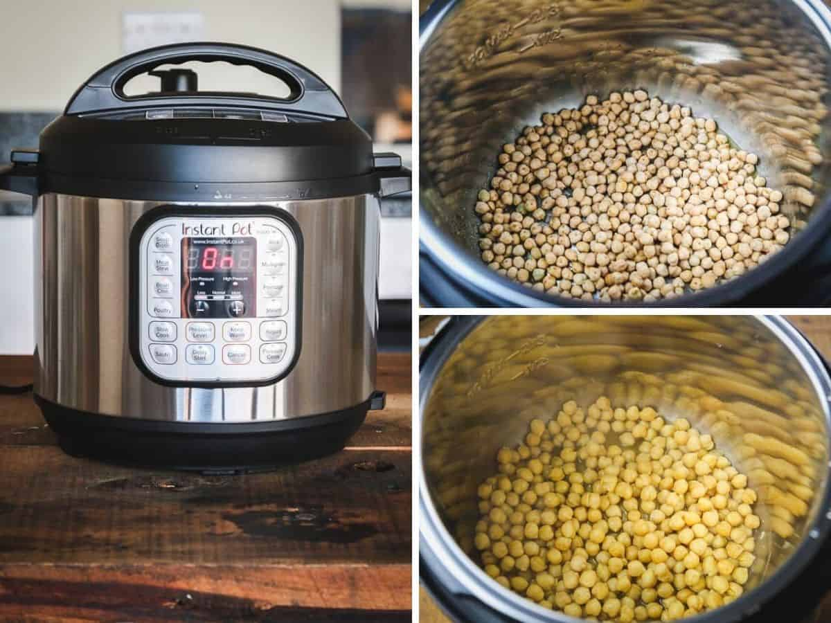 How to Make Instant Pot Hummus From Dried Chickpeas