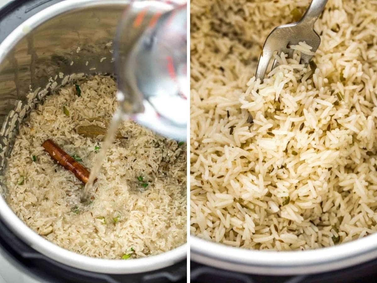 How to cook jera rice in the instant pot