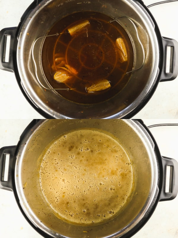 How to make gravy in the instant pot