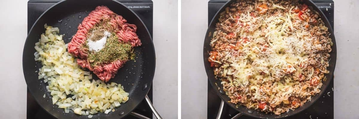 2 steps how to make stuffing