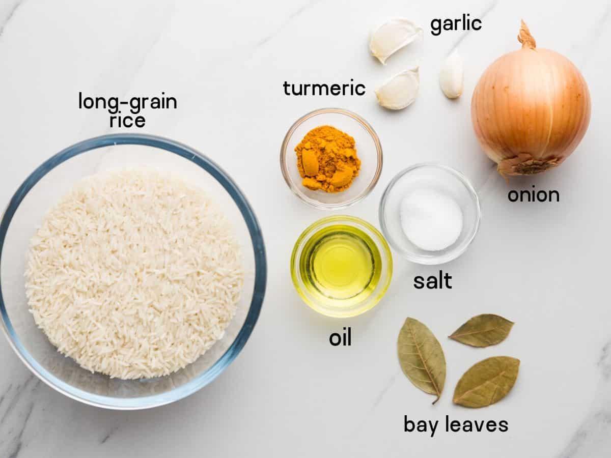 turmeric rice ingredients